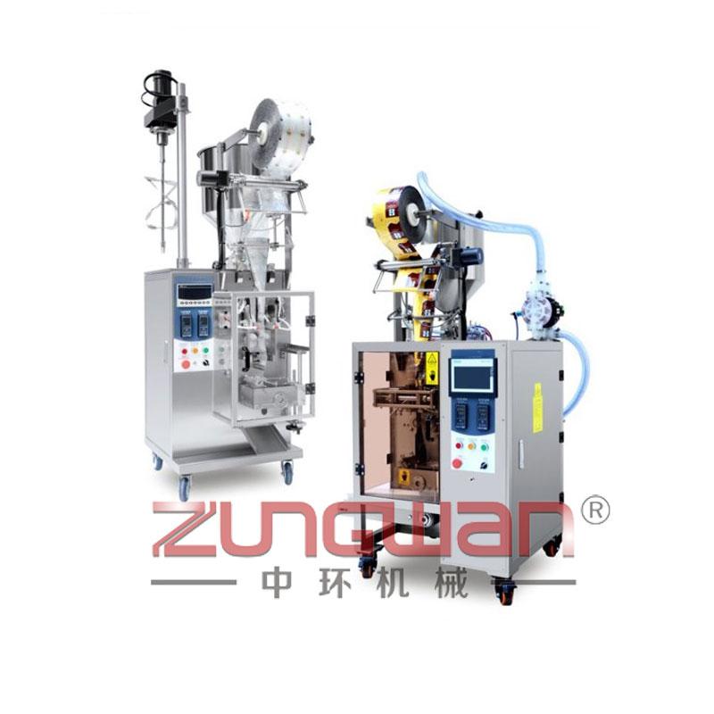 ZH-YY50/YG50 全气动液体膏体包装机
