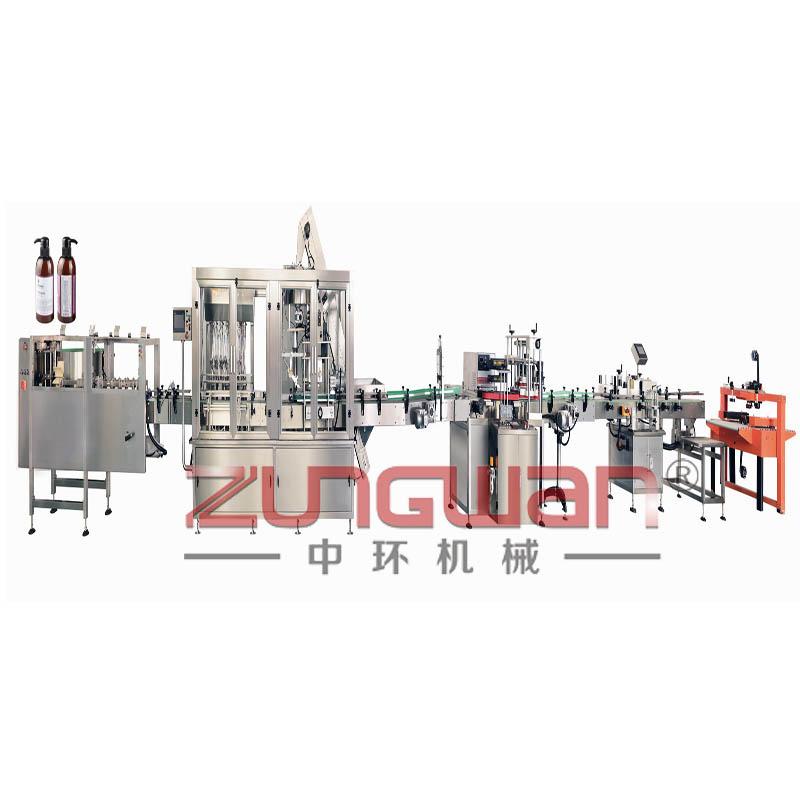 ZHX-BTG全自动泵头盖智能灌装工作线