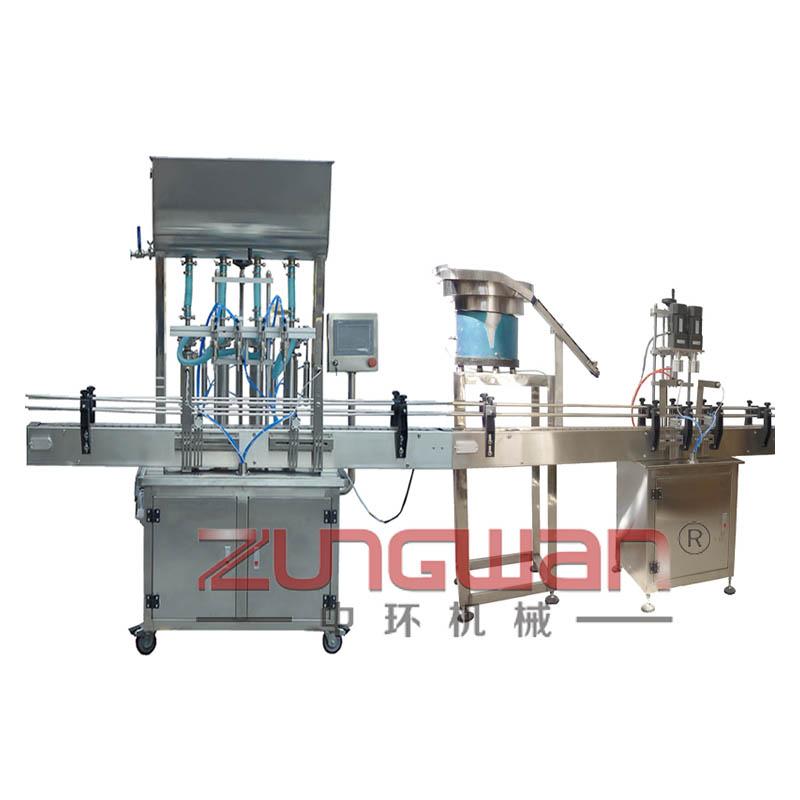 ZHX-JJX全自动经济型灌装旋盖机