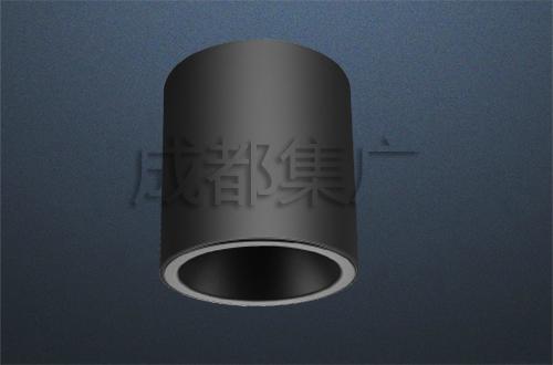 LED明装筒灯(黑)