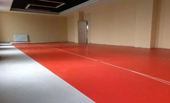 华目商用PVC地板施工流程