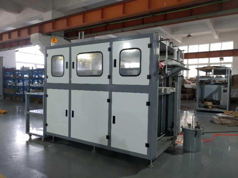 SH-960A自动连体盖纸盒成型机