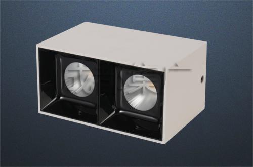LED明裝格柵燈(雙)