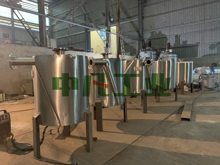 湖州绿色新材螺旋板式换热器顺利交付