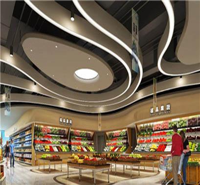 超市设计案例的特点