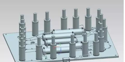 氮气弹簧储气罐系统设计要点