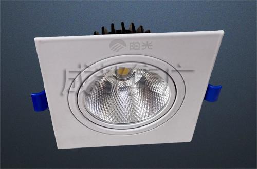 COB面板射灯(单头)