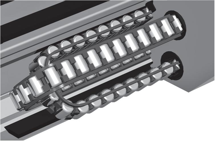 SMR系列滾柱型直線導軌
