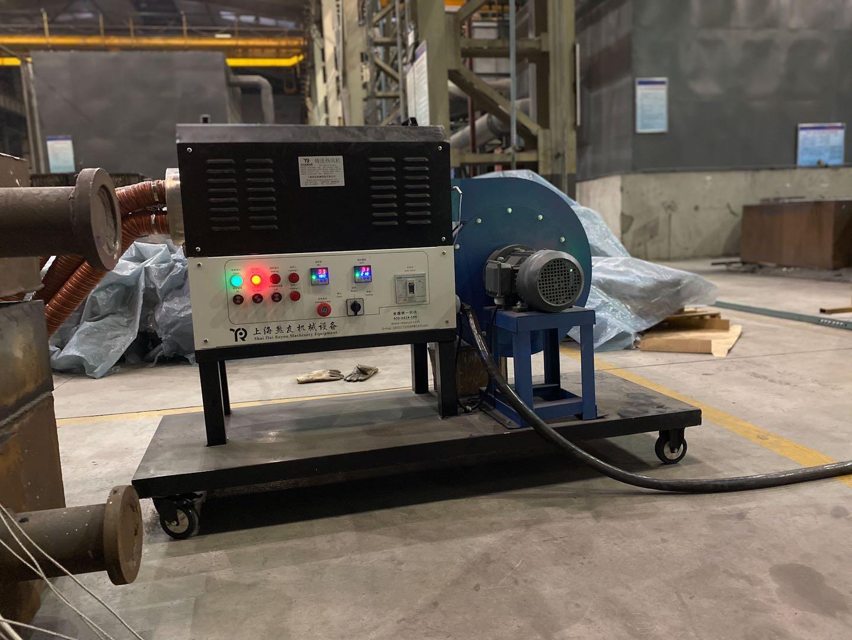循环工业热风机制作烘干房-案例