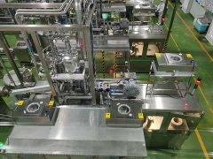 君乐宝乳制品自动装袋生产线
