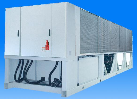 风(水)冷螺杆式冷水机组LS 系列