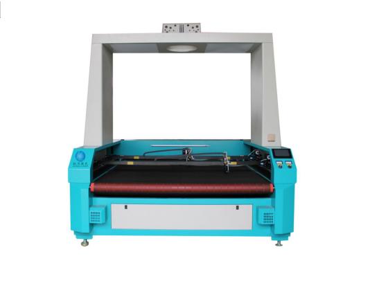 HL-1814双横梁全景摄像定位送料激光切割机