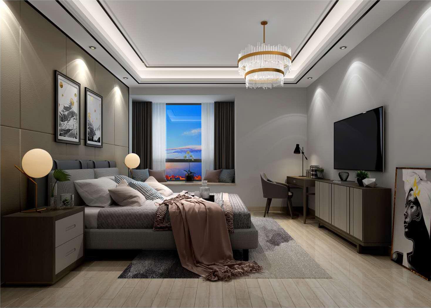 卧室装修案例图