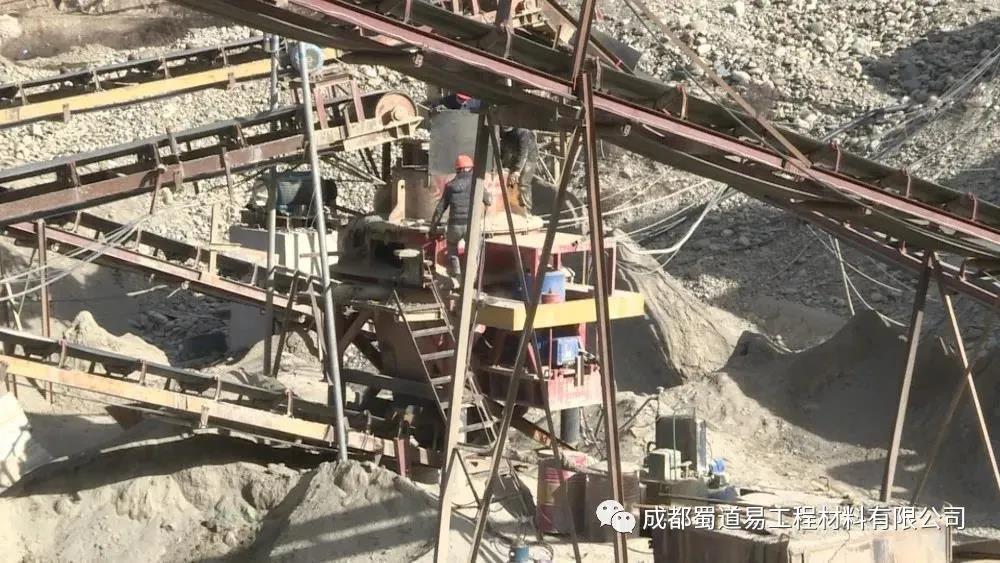 蜀道易参与省道458线白玉县城经赠科至甘孜机场段公路改建工程