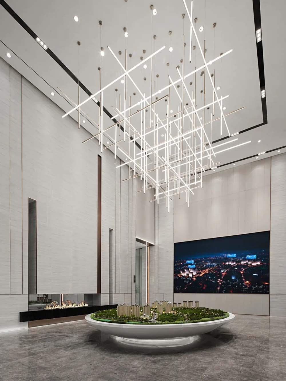 中海河山郡售楼处装饰设计