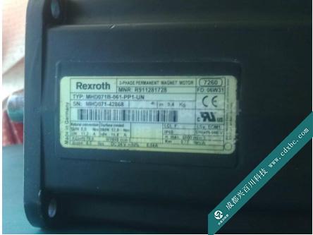 力士乐Rexroth伺服电机过热修理