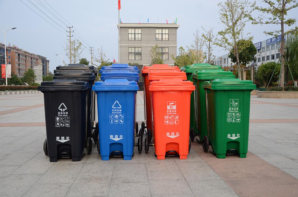 塑料垃圾桶全家福