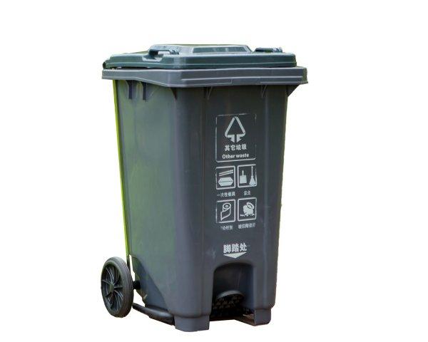 塑料垃圾桶CQU-SL-120U