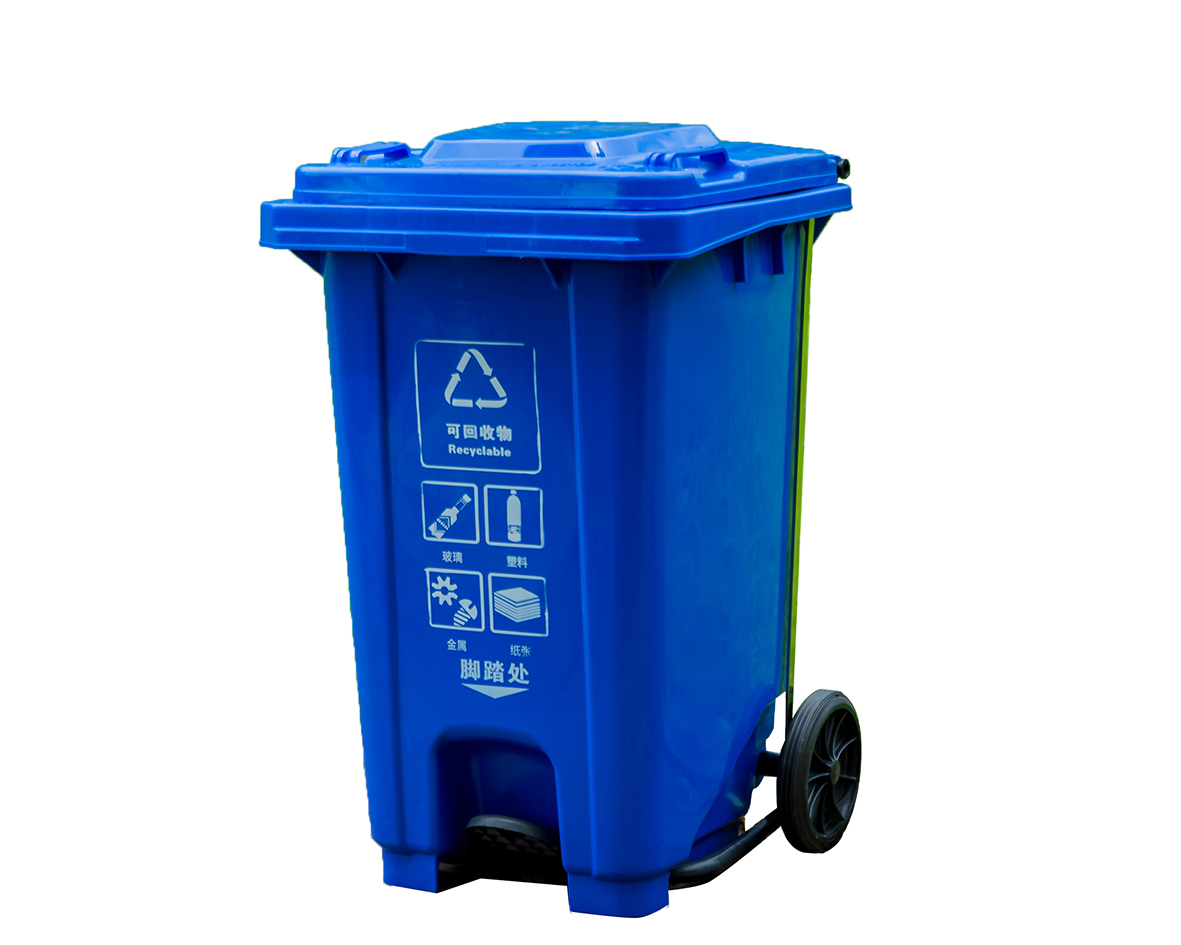 塑料垃圾桶CQU-SL-100U