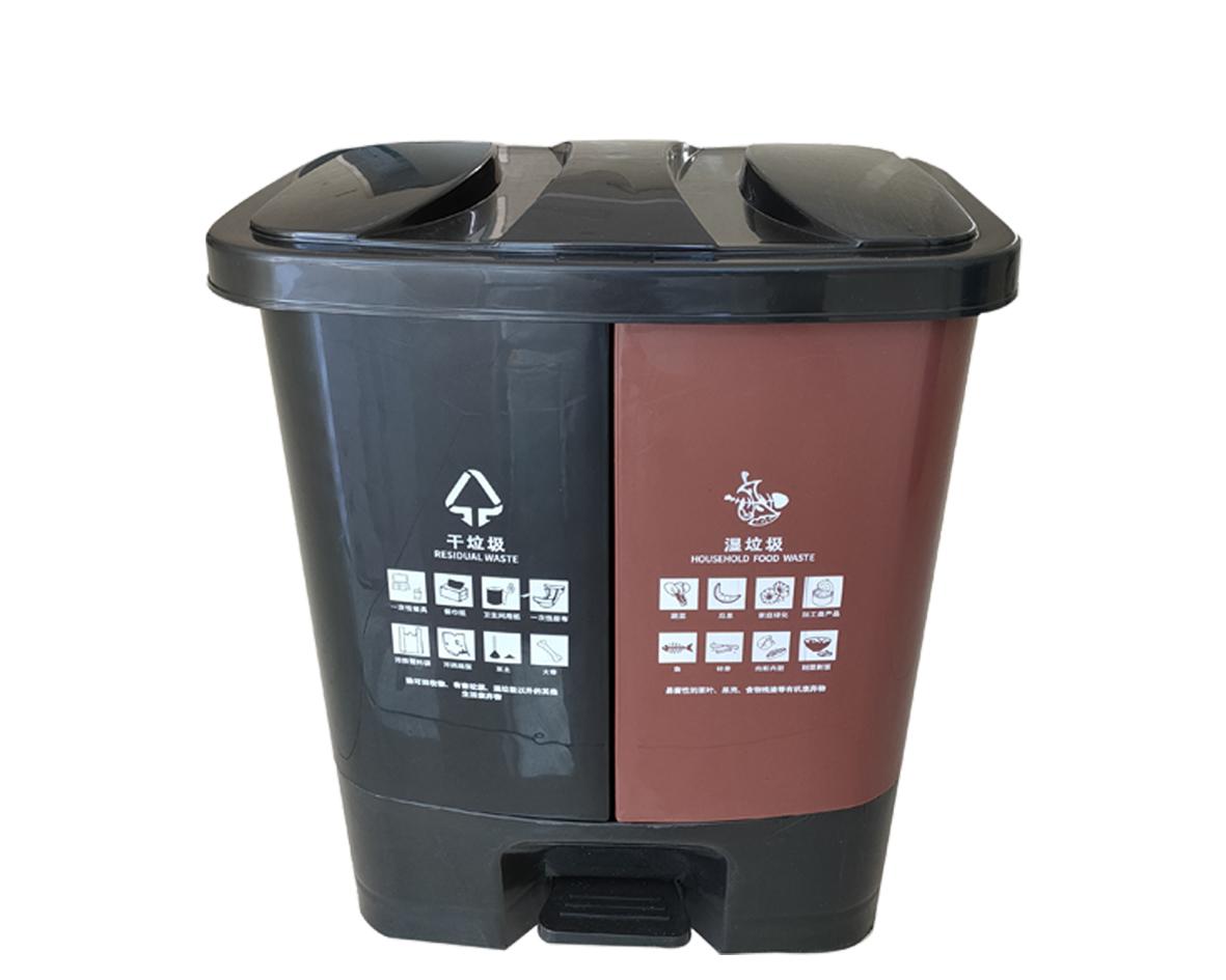 塑料垃圾桶CQU-SL-40CD