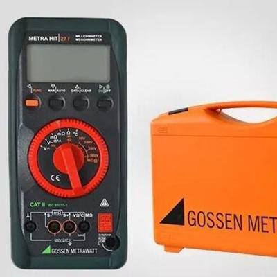 飞机蓄电池检测的解决方案——万用表MetraHit 27I