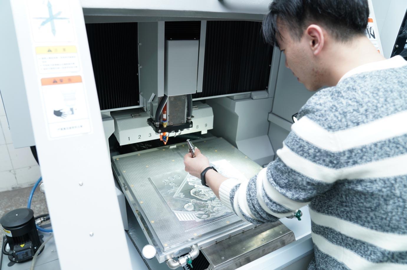 印刷电雕凹印制版