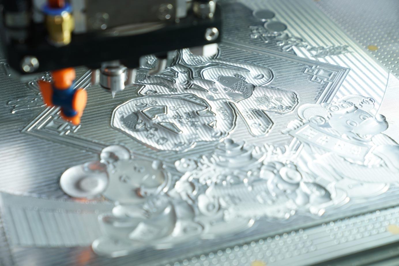 印刷電雕凹印制版