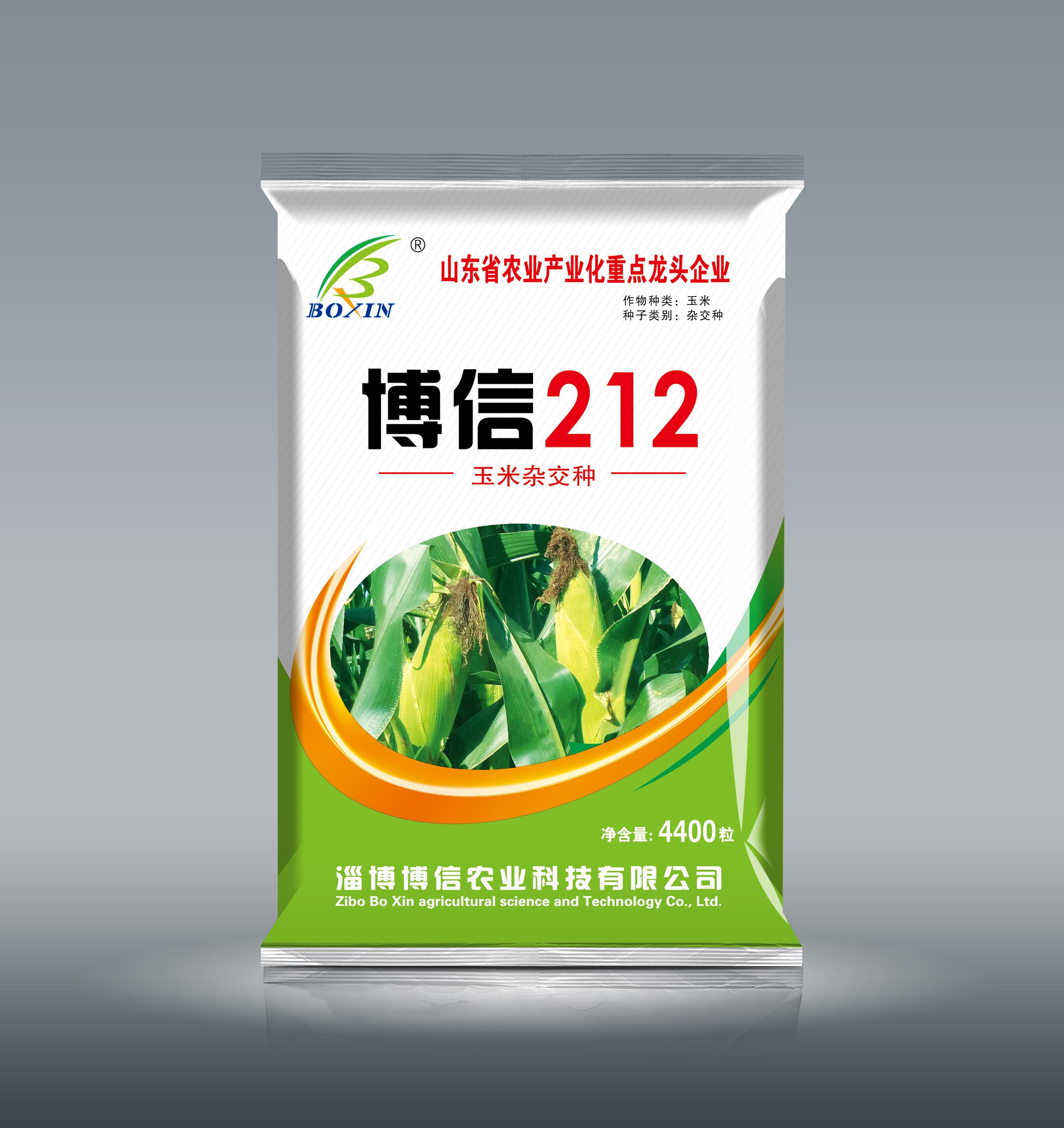 博信212玉米种子产品介绍