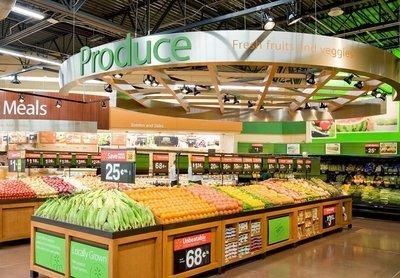 超市设计公司如何设计吊顶?