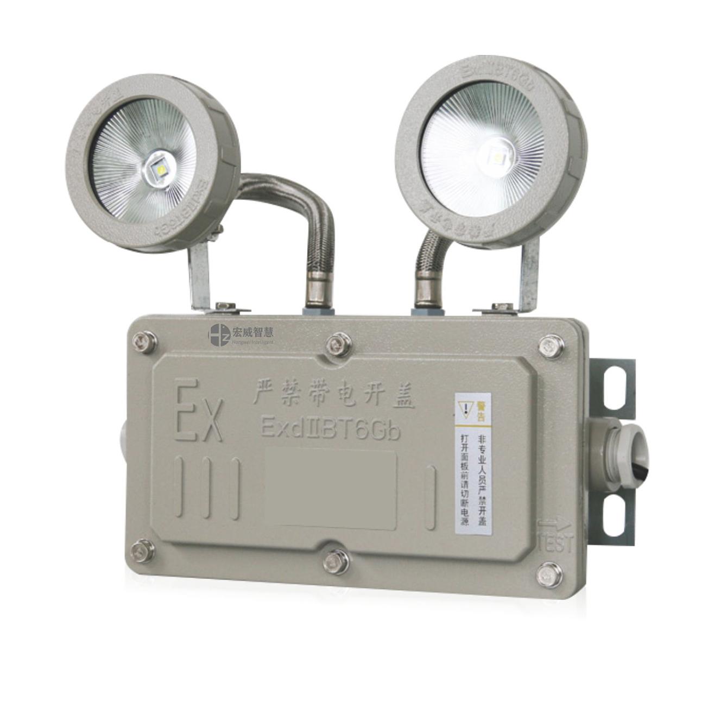 防爆双头应急灯 集中电源集中控制型消防应急照明灯具