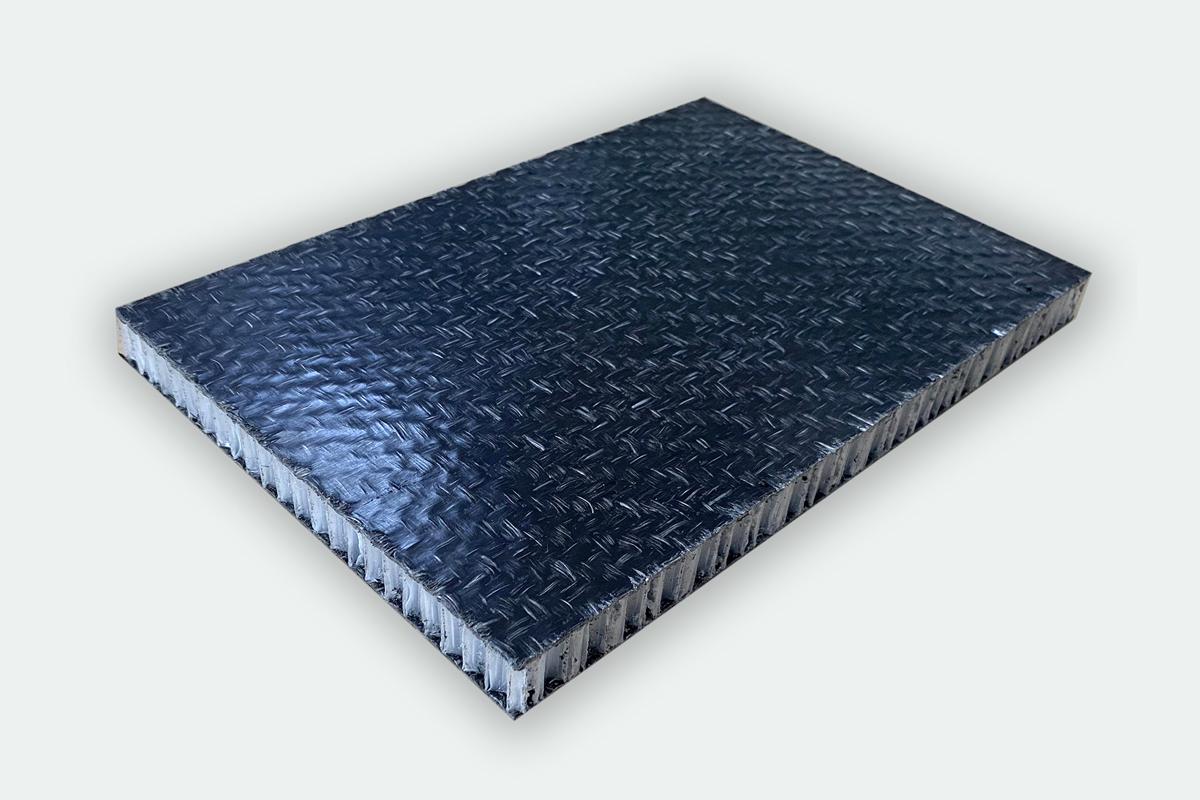 玻纤增强聚丙烯蜂窝复合板-黑色