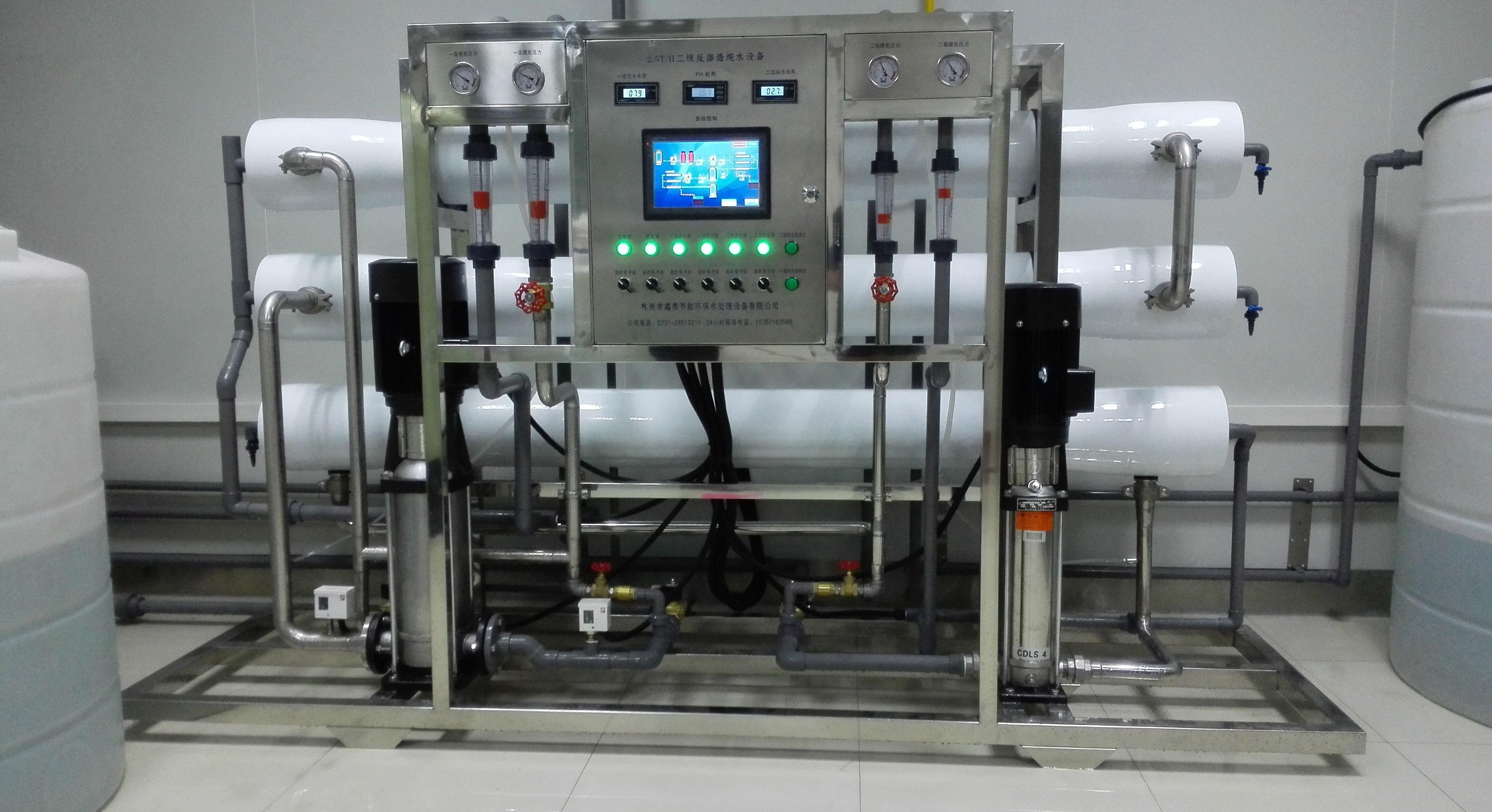 绿禾盛分享:纯水设备主要的12种常见问题