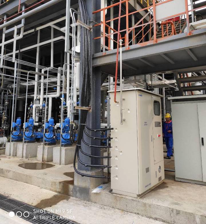 山东某化工厂防爆在线气相色谱分析系统实施完工