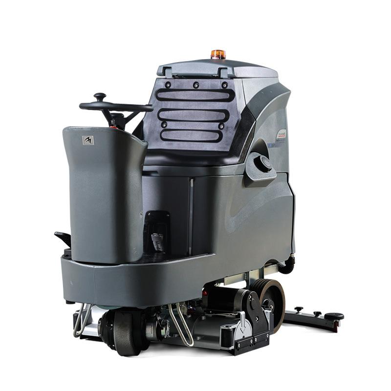 操场护理机-驾驶洗扫一体机GM110RBT80-学校操场橡胶地面洗地车