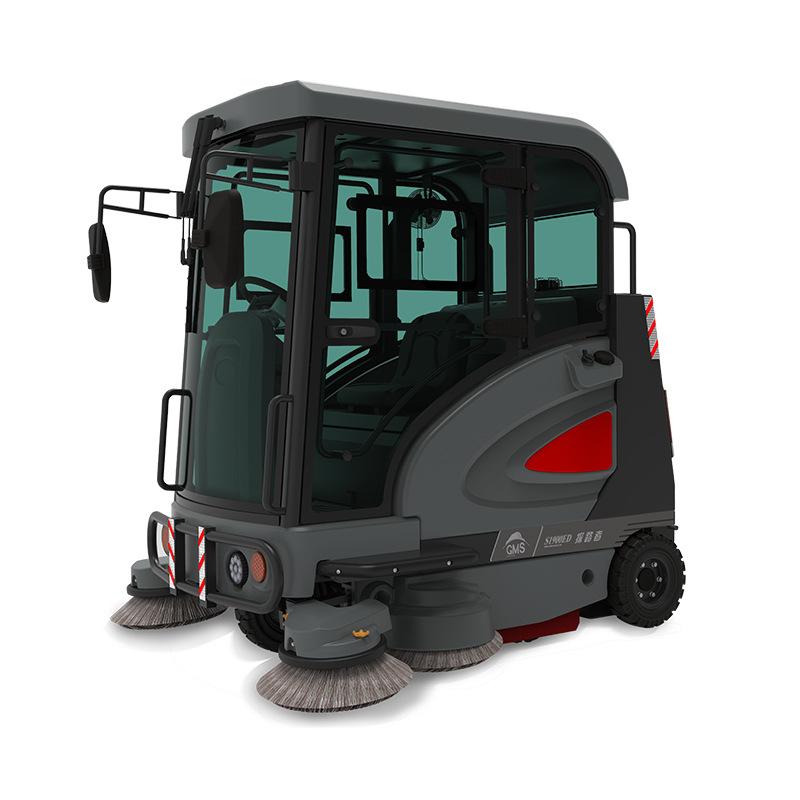 GAOMEI高美S1900ED大型扫地车-道路清扫车-物业驾驶式电动扫地机