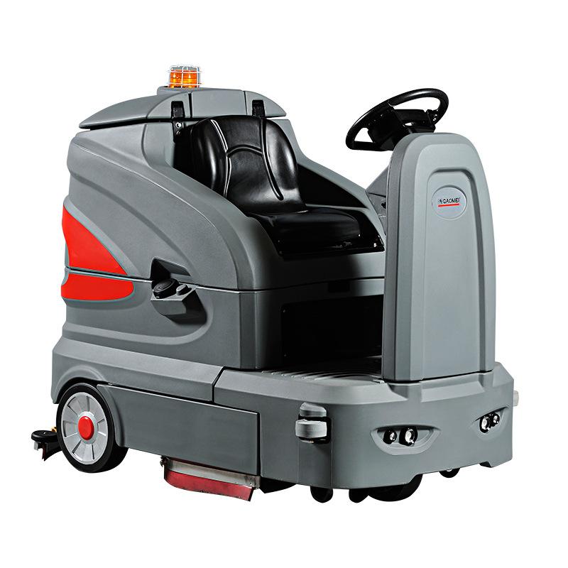 地下车库洗地机-地坪漆地面洗地车-小区/柏油马路洗地车S160