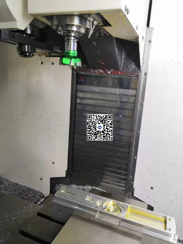 鋁合金智能門鎖面板加工