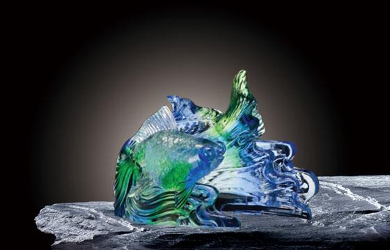 夏氏琉璃每一件琉璃制品的诞生犹如凤凰涅槃