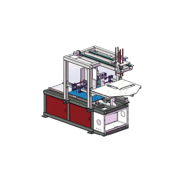 雙工位移倉式上料機
