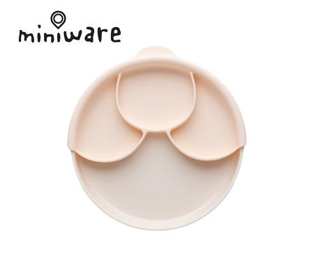 miniware天然宝贝碗树薯淀粉健康餐盘组