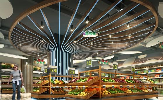 商业超市装饰设计应注意的事项!