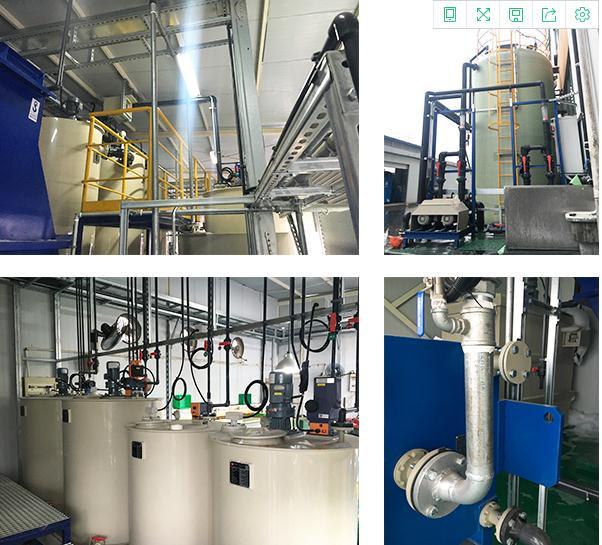 苏州高创精密机械超声波清洗酸洗废水处理工程