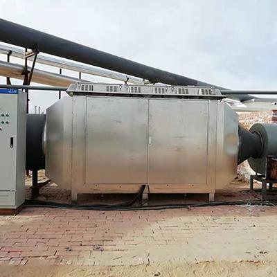 微波设备用于化工和制药废气处理工程