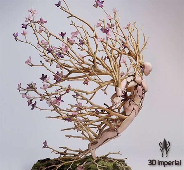 当雕塑遇见3D打印! |杭州博型3D打印