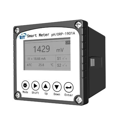 工业PH/ORP计 PHG-1901A在线pH计检测仪 控制器工业水质测试传感器电极探头ORP酸度计