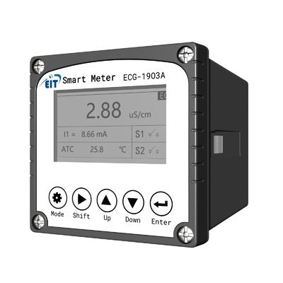 工业电导率仪 ECG-1903A  pH值检测仪控制传感器电极探头orp检测电导率仪酸度pH计工业在线