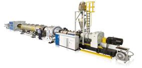UPVC/CPVC管材擠出生產線