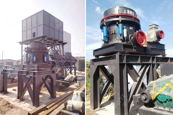 湖南用户的花岗岩制沙生产线装机中.jpg