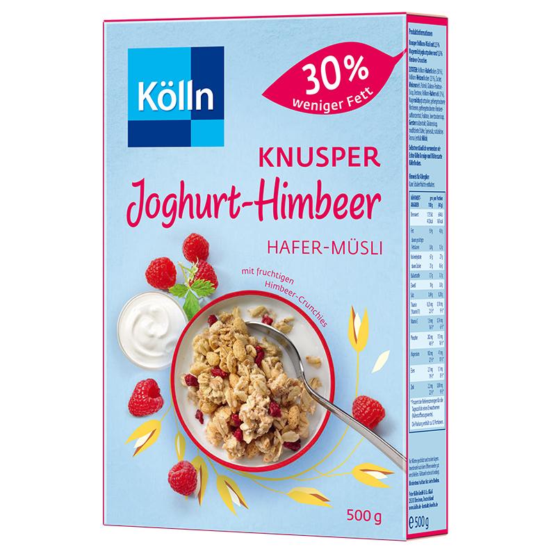 Kölln康陇麦酸奶树莓格兰诺拉麦片