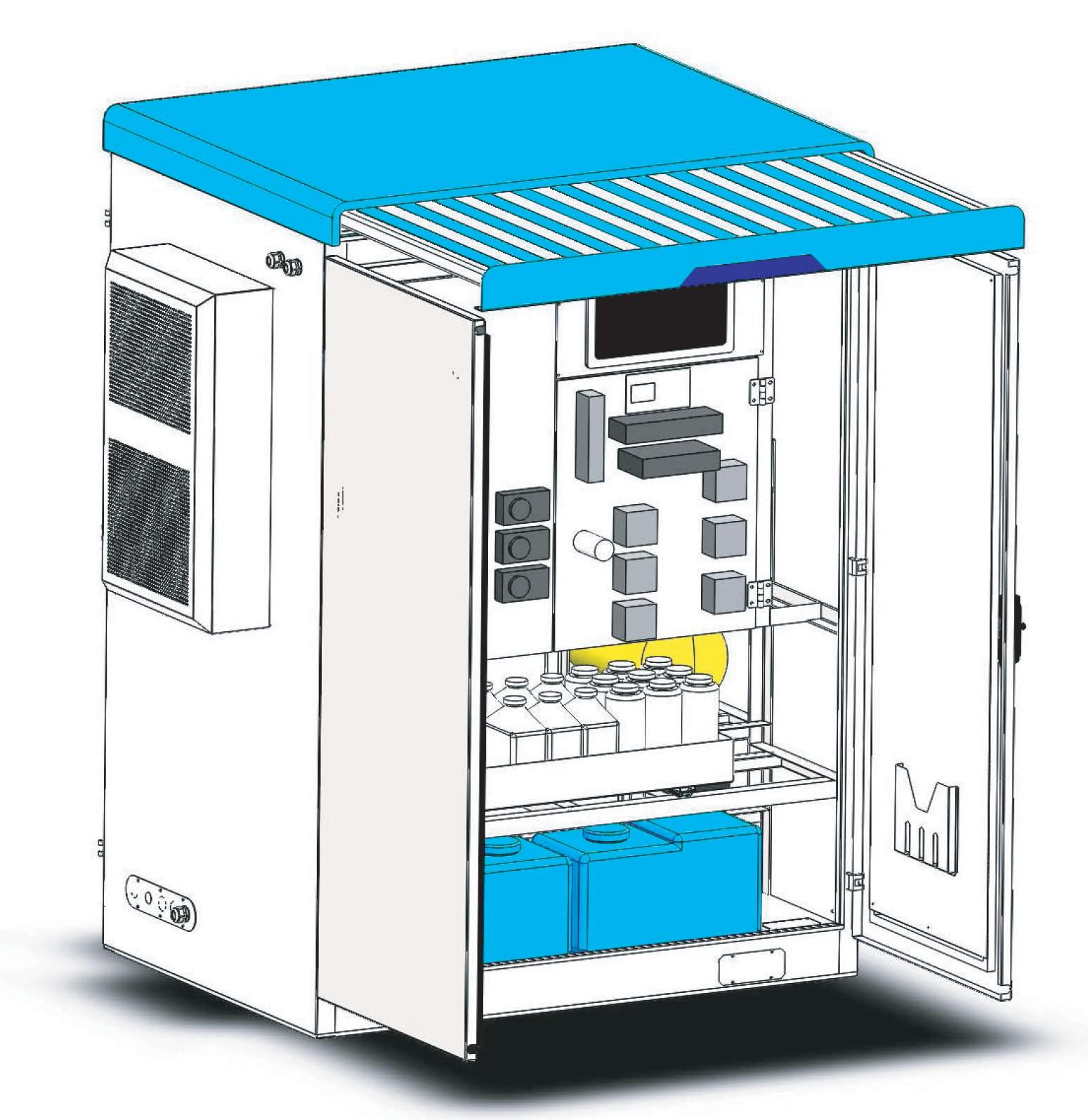 多参数水质在线一体化自动监测系统